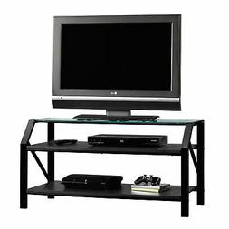 Fashionable Furinno Jaya Large Tv Stands With Storage Bin With Monarch I 3377 Console Table Grey Cement With Chrome (View 1 of 15)