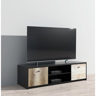 """Fashionable Gosnold Tv Stands For Tvs Up To 88"""" Pertaining To Ebern Designs Acad Tv Stand For Tvs Up To 88"""" (View 3 of 15)"""