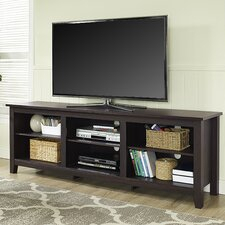 Fashionable Mainstays Payton View Tv Stands With 2 Bins Pertaining To Modern Tv Stands + Entertainment Centers (View 9 of 15)
