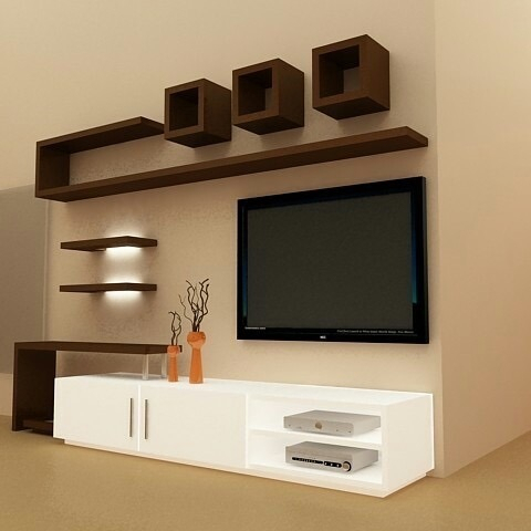 Fashionable Modern Design Tv Cabinets With Regard To Designer Lcd Cabinet At Rs 48000/Unit (View 2 of 15)