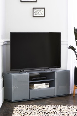 Fashionable Priya Corner Tv Stands Inside Buy Sloane Grey Corner Tv Stand From The Next Uk Online Shop (View 8 of 15)