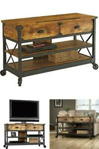 Favorite Fireplace Media Console Tv Stands With Weathered Finish Regarding Better Homes And Gardens Rustic Country Tv Stand Up To  (View 14 of 15)