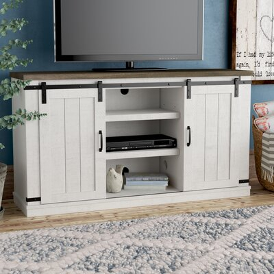 """Favorite Griffing Solid Wood Tv Stands For Tvs Up To 85"""" In Tv Stands & Entertainment Centers You'Ll Love In  (View 12 of 15)"""