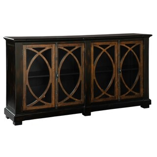 Favorite Martin Svensson Home Barn Door Tv Stands In Multiple Finishes Throughout Shop Hekman Furniture Small Circle Lattice Farmhouse Chic (View 4 of 5)