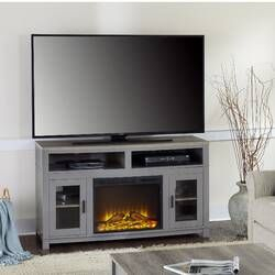 """Favorite Rickard Tv Stands For Tvs Up To 65"""" With Fireplace Included Regarding Pin On Fireplaces (View 9 of 15)"""