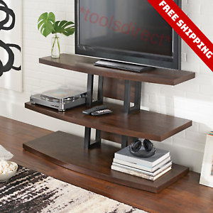 Favorite Single Shelf Tv Stands Throughout 3 Tier Tv Stand Entertainment Media Center Console Shelf (View 1 of 15)