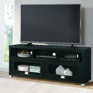 """Favorite Techni Mobili 58"""" Durbin Tv Stands In Espresso Or Grey Wood Within Techni Mobili 58"""" Durbin Tv Stand For Tvs Up To 75"""",Black (View 5 of 15)"""