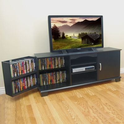 Favorite Walker Edison Wood Tv Media Storage Stands In Black Within I Like This Entertainment Center Because It Would (View 5 of 15)