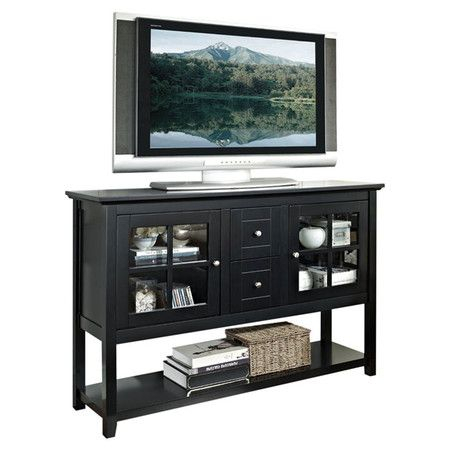"""Found It At Wayfair – 52"""" Tv Stand In Black (View 6 of 15)"""