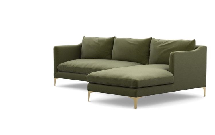 """Frame 29 Of """"Caitlin Chaise Sectional R""""   Custom For Harmon Roll Arm Sectional Sofas (View 5 of 15)"""