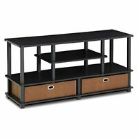 Furinno Jaya Large Entertainment Stand For Tv Up To 50 With Regard To Favorite Furinno Jaya Large Entertainment Center Tv Stands (View 5 of 15)