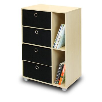 Furinno Steam Beech Living Multipurpose Storage Cabinet Inside Preferred Furinno Jaya Large Tv Stands With Storage Bin (View 13 of 15)