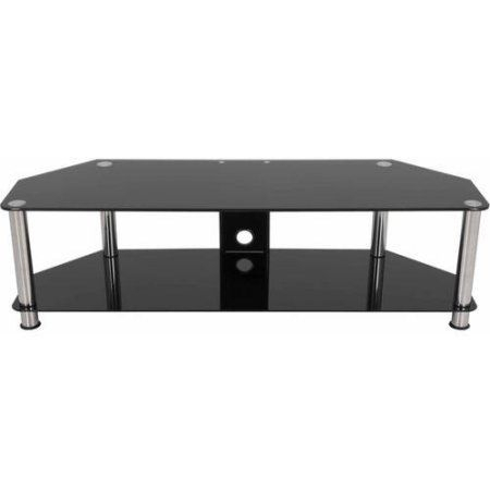 Glass Tv Stand, Tempered Glass Shelves, Tv Stand (View 14 of 15)