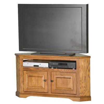 """Glastonbury Solid Wood Corner Unit Tv Stand For Tvs Up To Within Newest Baba Tv Stands For Tvs Up To 55"""" (View 2 of 15)"""