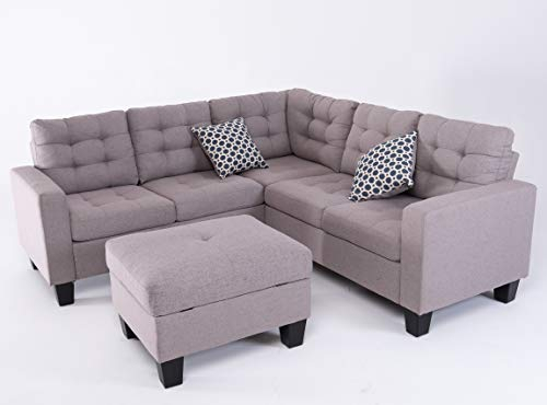 Good & Gracious Sectional Sofa Set, L Shaped Couch With Within Palisades Reversible Small Space Sectional Sofas With Storage (View 5 of 15)
