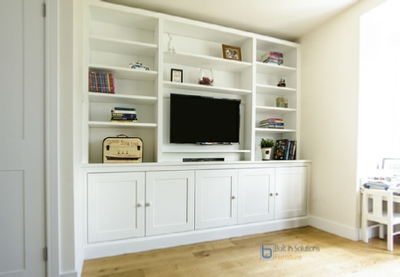 Gorgeous Built In Cupboards In Your Living Room With Most Recently Released Hannu Tv Media Unit White Stands (View 13 of 15)