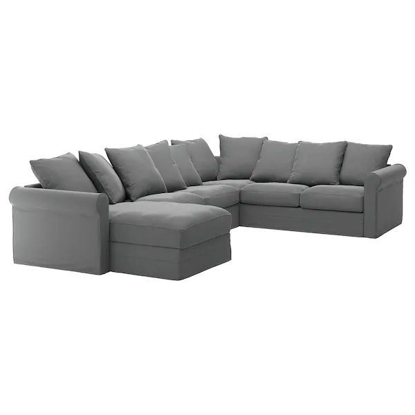 Grönlid Sectional, 5 Seat Corner, With Chaise/Ljungen With Regard To Harmon Roll Arm Sectional Sofas (View 2 of 15)