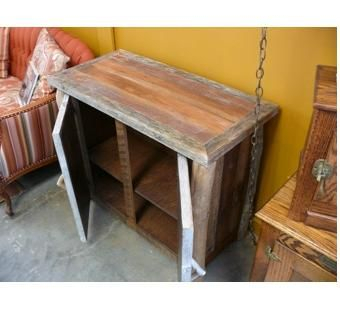 Hand Made Rustic Driftwood Reclaimed Wood Tv Stand With Well Known Rustic Wood Tv Cabinets (View 10 of 15)