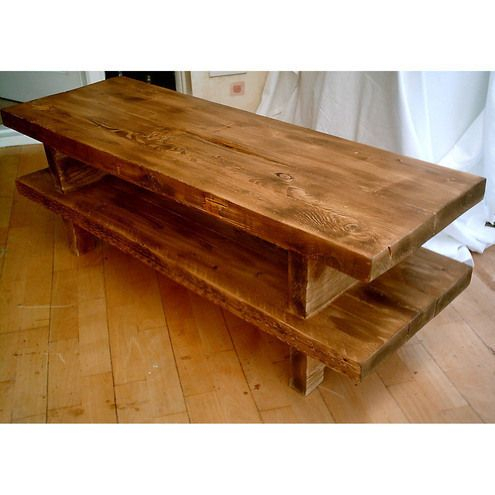 Hand Made Rustic Widescreen Tv Stand – Stained In Med Oak Intended For Widely Used Copen Wide Tv Stands (View 12 of 15)