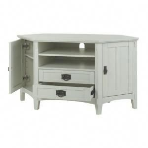 Home Decorators Collection Artisan White Storage Inside Well Known White Corner Tv Cabinets (View 12 of 15)