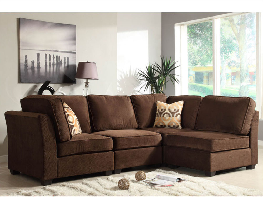 Homelegance Sectional Sofa Set Burke Modular El 9709Fcset With Regard To Sectional Sofas (View 13 of 15)