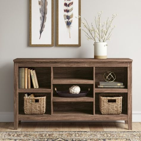 Horizontal Throughout Trendy Mainstays 4 Cube Tv Stands In Multiple Finishes (View 6 of 15)