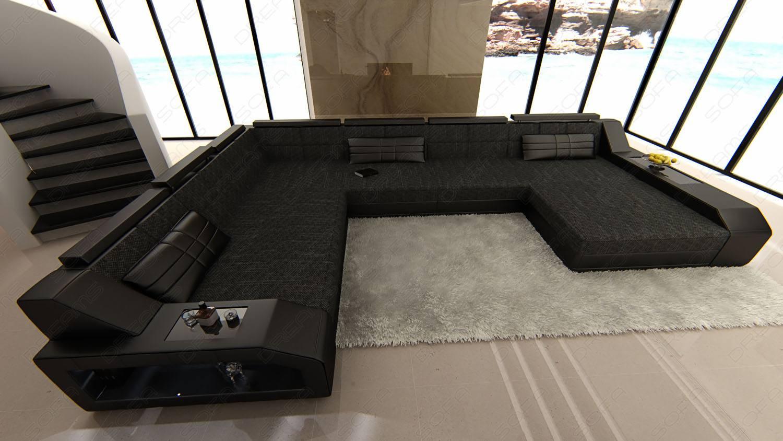 Houston Fabric Sectional Sofa | Sofadreams Regarding Houston Sectional Sofas (View 15 of 15)