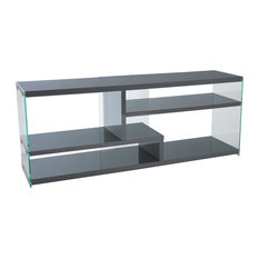 Houzz Throughout Newest Boahaus Dakota Tv Stands With 7 Open Shelves (View 15 of 15)