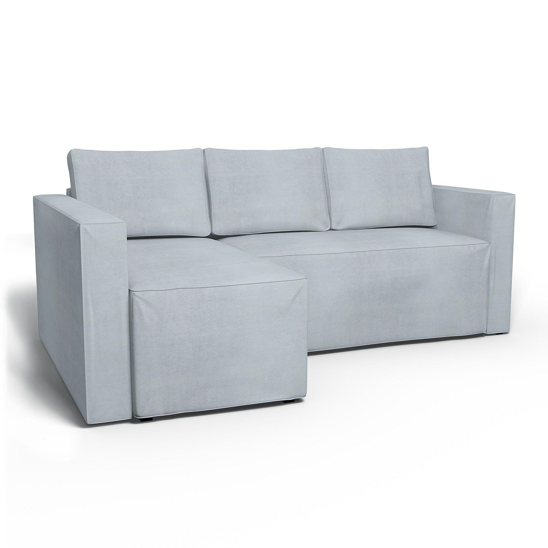 Ikea Månstad, Corner Sofa Bed With Storage, Left – Bemz Inside Manstad Sofas (View 2 of 15)