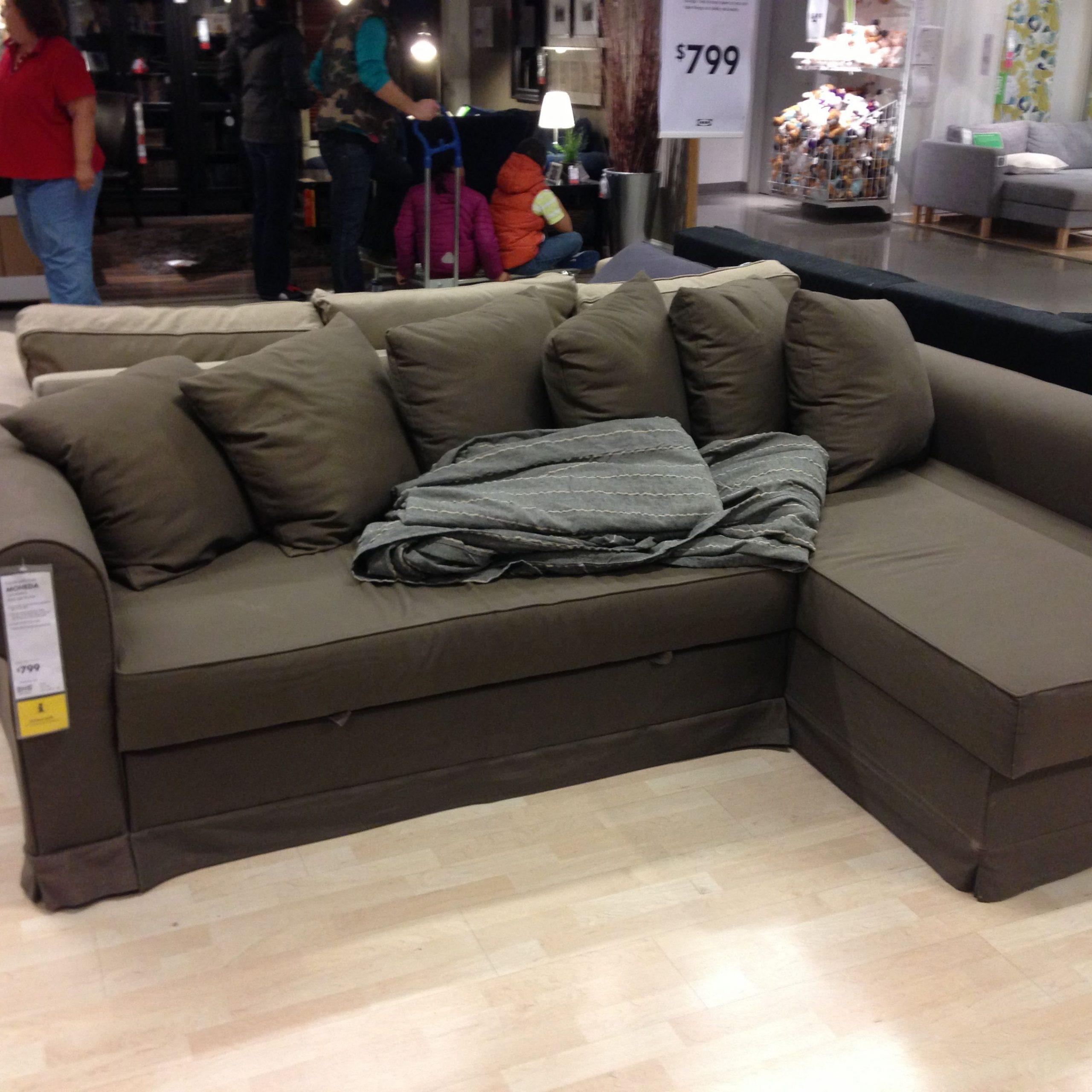 Ikea Moheda Corner Sofa Bed With Storage | Ikea Sofa Bed Pertaining To Ikea Corner Sofas With Storage (View 1 of 15)