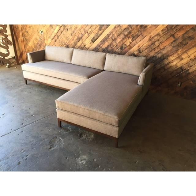 Image Of Mid Century Style Custom Reversible Sectional In Verona Mid Century Reversible Sectional Sofas (View 7 of 15)