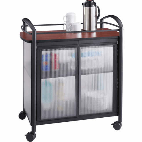 Impromptu® Refreshment Cart Hospitality & Beverage Cart Regarding Popular Modern Black Tv Stands On Wheels With Metal Cart (View 6 of 15)