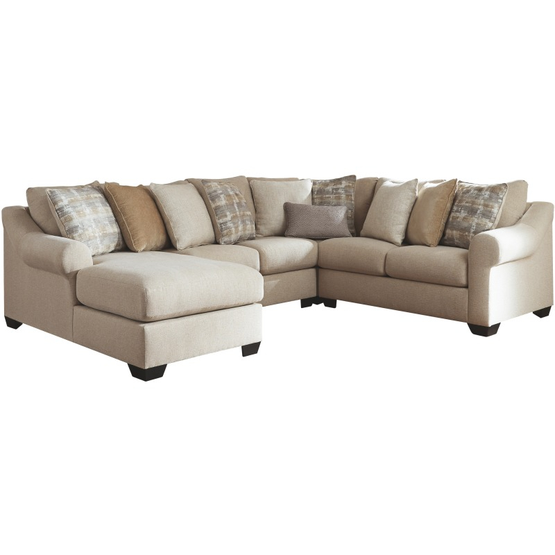 Ingleside 4 Piece Sectional With Chaisebenchcraft For Benton 4 Piece Sectionals (View 1 of 15)