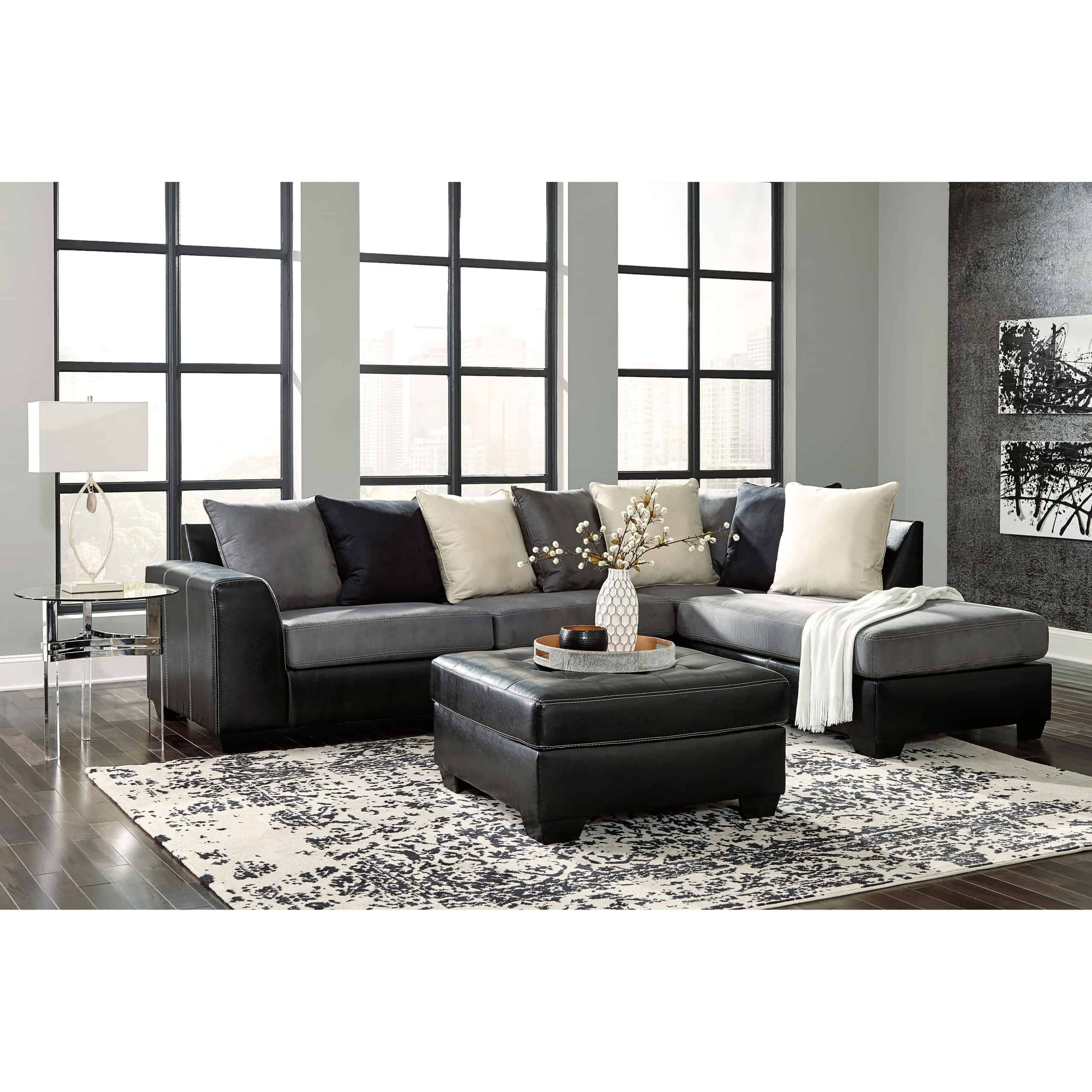 Jacurso 2 Piece Raf Chaise Sectional   Furnishmyhome (View 4 of 15)