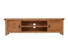 Large Tv Stands, Oak In Preferred Bromley Extra Wide Oak Tv Stands (View 1 of 15)