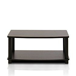 Latest Furinno 2 Tier Elevated Tv Stands With Furinno 13191Ex/Bk Turn N Tube No Tools 2 Tier Elevated Tv (View 2 of 15)