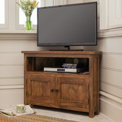Latest Industrial Corner Tv Stands With Regard To Corner Tv Stand – Corner Tv Unit Suppliers, Traders (View 2 of 15)