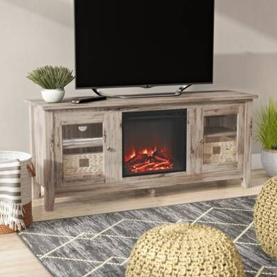 """Latest Rickard Tv Stands For Tvs Up To 65"""" With Fireplace Included For Frederick Tv Stand For Tvs Up To 78"""" With Fireplace (View 4 of 15)"""