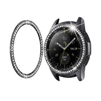 Latest Shiny Black Tv Stands In Kd Samsung Galaxy Watch Shiny Steel Strap + Bezel – Black (View 3 of 15)