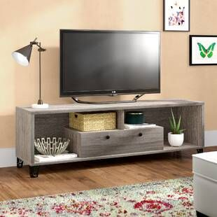 """Latitude Run Frederick Tv Stand For Tvs Up To 60 Pertaining To Latest Ahana Tv Stands For Tvs Up To 60"""" (View 3 of 15)"""