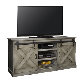 Laurel Foundry Modern Farmhouse Athenis Tv Stand & Reviews Pertaining To Preferred Rustic Red Tv Stands (View 8 of 15)