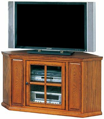 Leick Furniture 88285 Riley Holliday Corner Tv Stand 46 For Fashionable Techlink Bench Corner Tv Stands (View 6 of 15)
