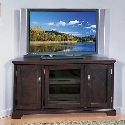 Leick Riley Holliday Corner Tv Stand With Storage, Intended For Latest Bromley Black Wide Tv Stands (View 5 of 15)
