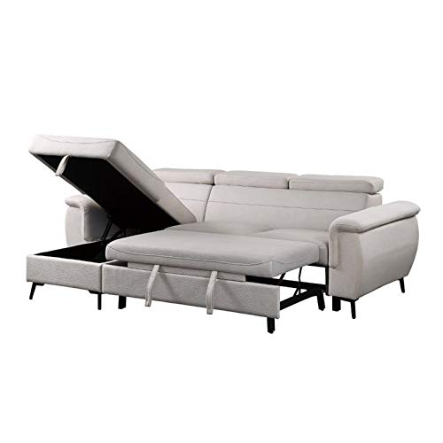 Lexicon Cadence Microfiber Reversible Sectional Sofa In Intended For Harmon Roll Arm Sectional Sofas (View 15 of 15)