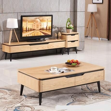 Living For Widely Used Tv Stand Coffee Table Sets (View 4 of 15)