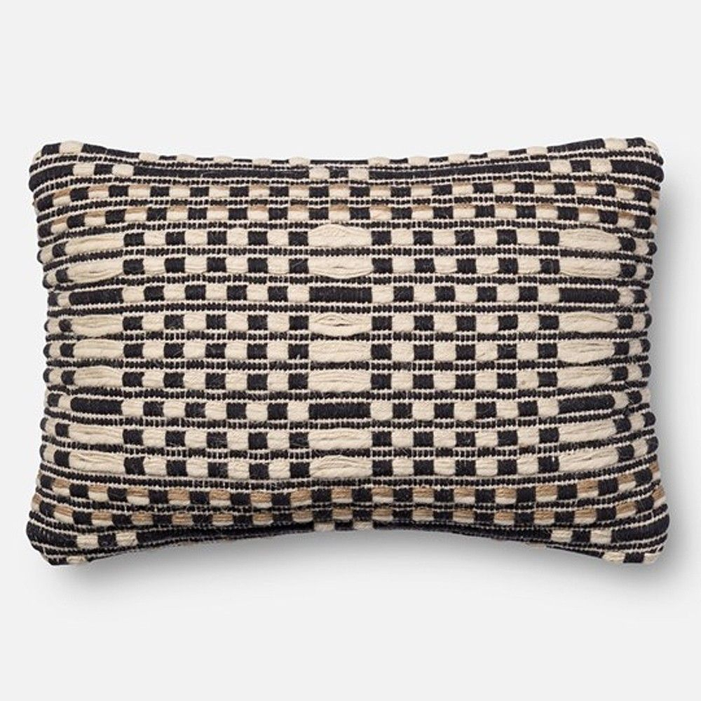 Loloi Magnolia Home Pillow – Black/Tan   Magnolia Home Intended For Magnolia Sectional Sofas With Pillows (View 13 of 15)