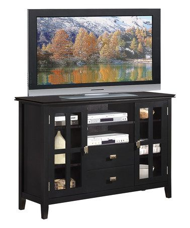 Look What I Found On #Zulily! Black Artisan Tv Stand # For Latest Dillon Black Tv Unit Stands (View 6 of 15)