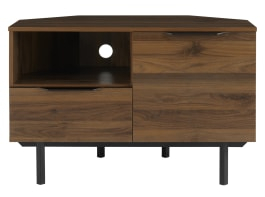 Made In Trendy Bromley Oak Corner Tv Stands (View 5 of 15)