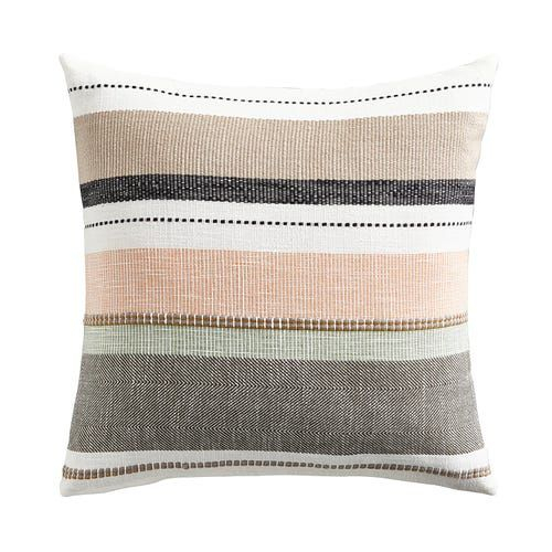 Magnolia Home Caitlin Multi Blush Pillow   Blush Pillows Inside Magnolia Sectional Sofas With Pillows (View 12 of 15)
