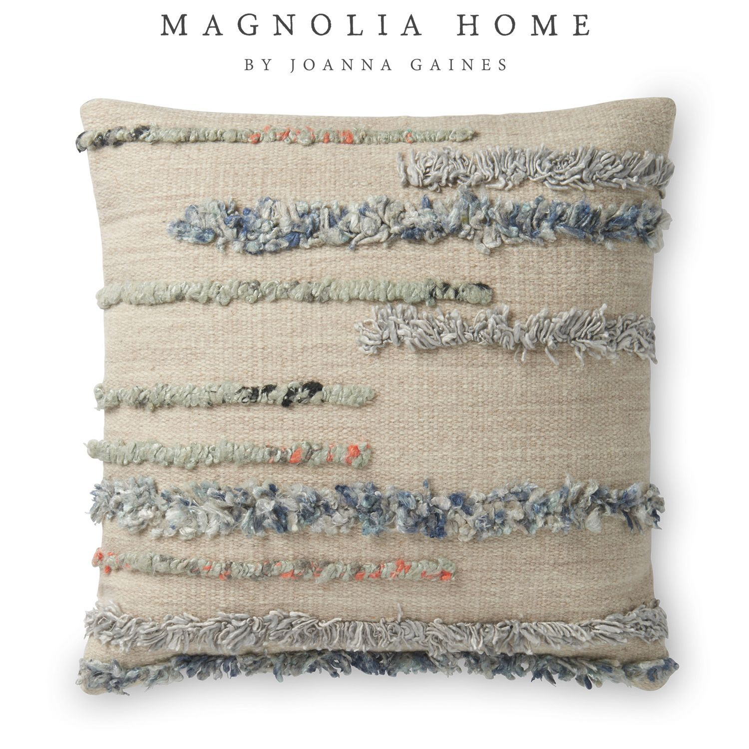 Magnolia Home Harper Pillow   Pier 1 Imports   Magnolia Pertaining To Magnolia Sectional Sofas With Pillows (View 7 of 15)